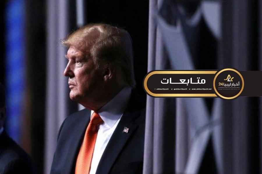 صورة ترامب يضاعف اتصالاته حول ليبيا خلال أيام معدودة