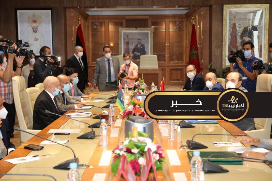 صورة البرلمان المغربي يؤازر نظيره الليبي لحل الأزمة الليبية