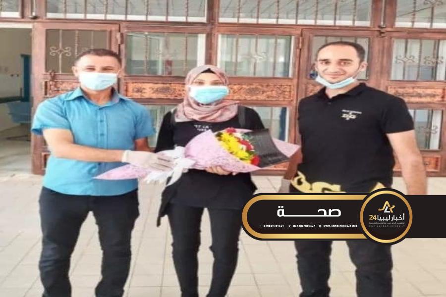 صورة ارتفاع حالات الشفاء من كورونا في مستشفى الهواري