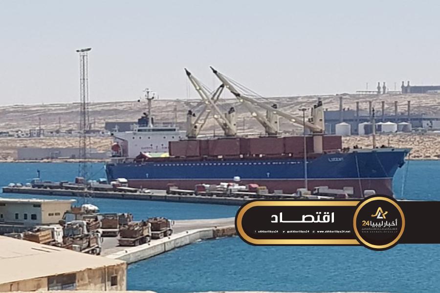 صورة الجراري: السفن القادمة لميناء طبرق تخضع للإجراءات الصحية