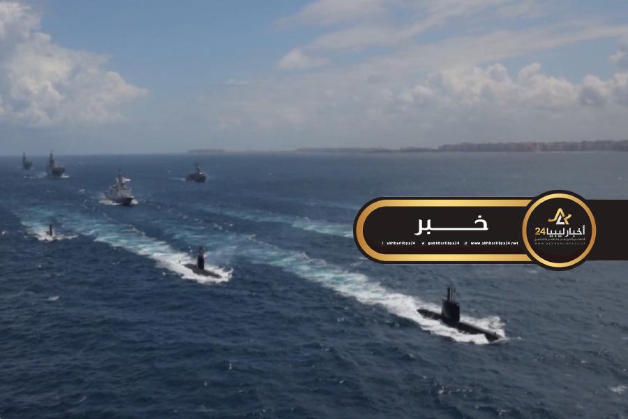 صورة الجيش المصري ينفذ مناورة حسم 2020 قرب ليبيا