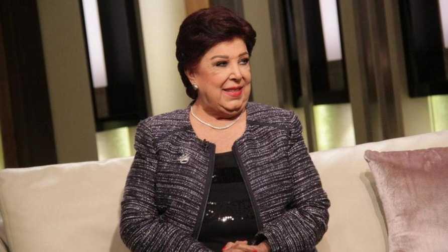 صورة وفاة الفنانة المصرية رجاء الجداوي بعد معاناة مع فيروس كورونا