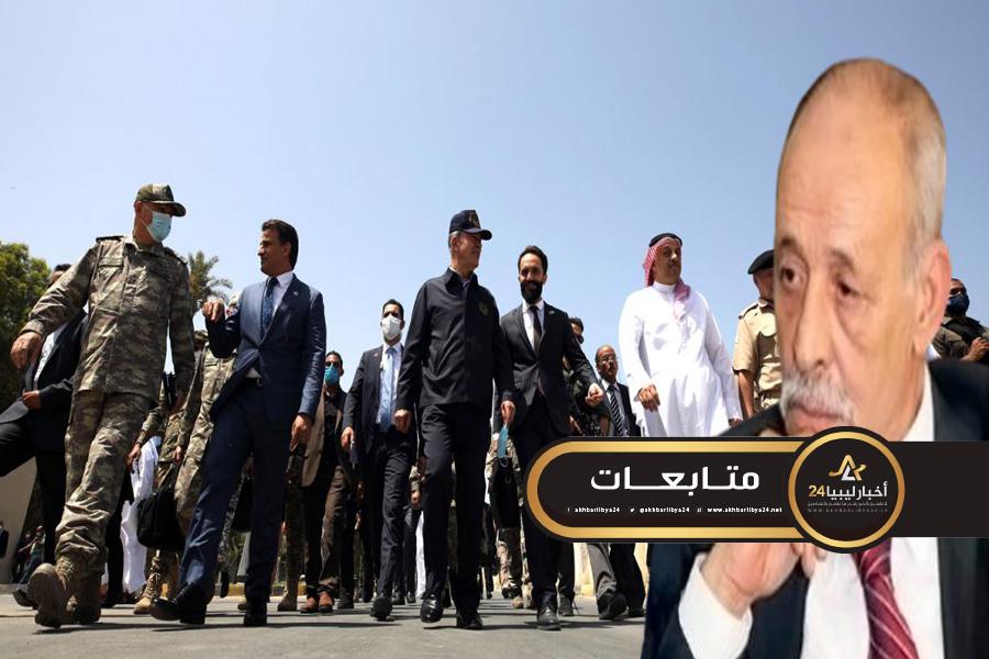 صورة الشاطر: زيارة وزراء دفاع تركيا وقطر لطرابلس دلالة أن الحرب أصبحت قريبة