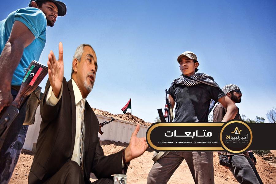 صورة الحاسي : فبراير قادها الخونة ومن لا يحملون عقلًا واعيًا