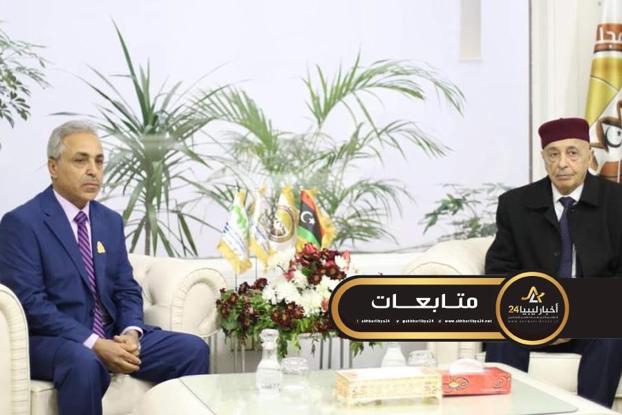 صورة عقيلة يكلف ديوان المحاسبة بتحقيقات شفافة بشأن مخالفات لجنة كورونا