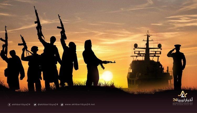 """صورة جرائم الإرهاب..""""فوزي الأوجلي"""" اغتالوه وابنه فقط لأنه عقيد في الدعم المركزي"""