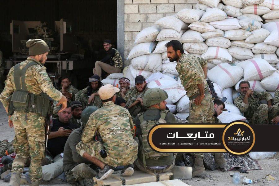 """صورة مليشيا فرقة الحمزات يهددون بفضح أردوغان بعد """"النصب"""" عليهم في ليبيا"""