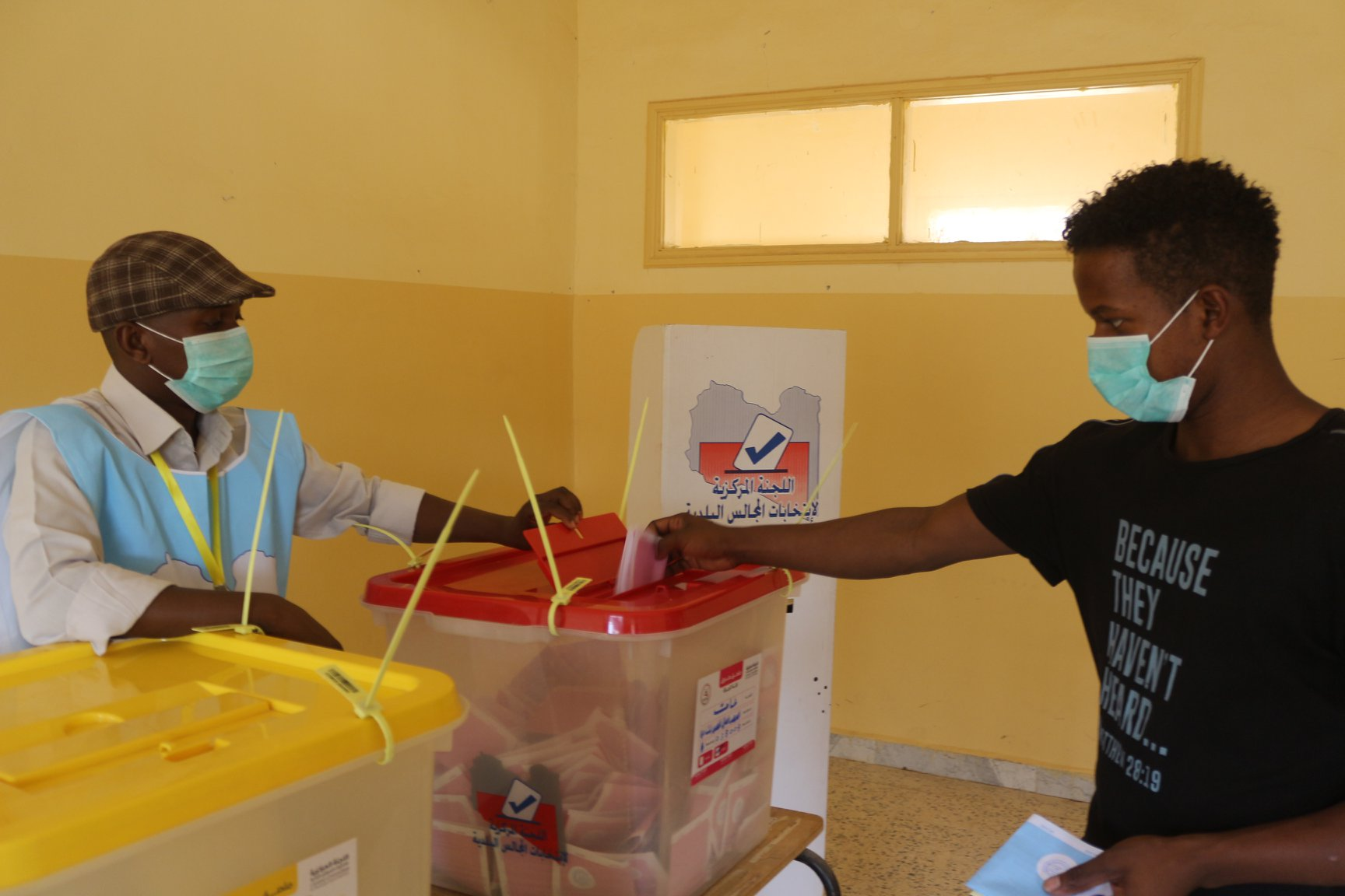 صورة البعثة الأممية تشيد بعزم مواطني غات على المشاركة في انتخابات بلديتهم