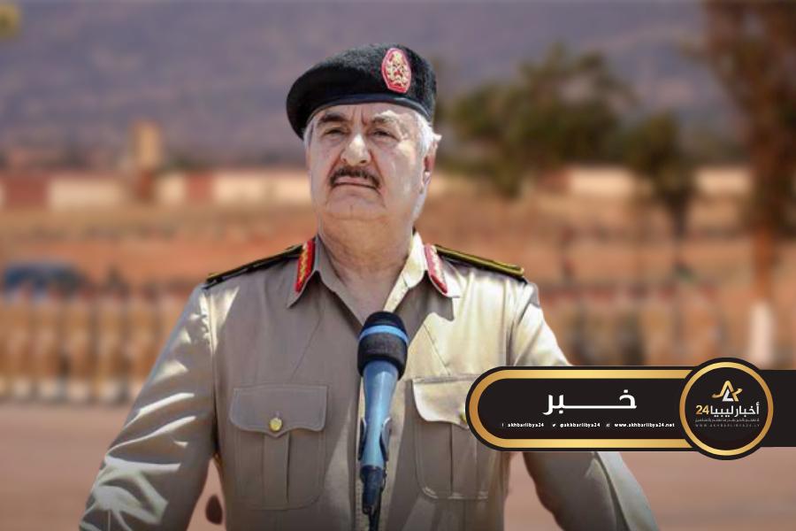 صورة ترقية استثنائية لـ 448 ضابطا يتبعون القوات المسلحة الليبية