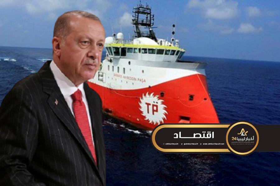 صورة أردوغان يعلن استئناف التنقيب عن المحروقات شرق المتوسط