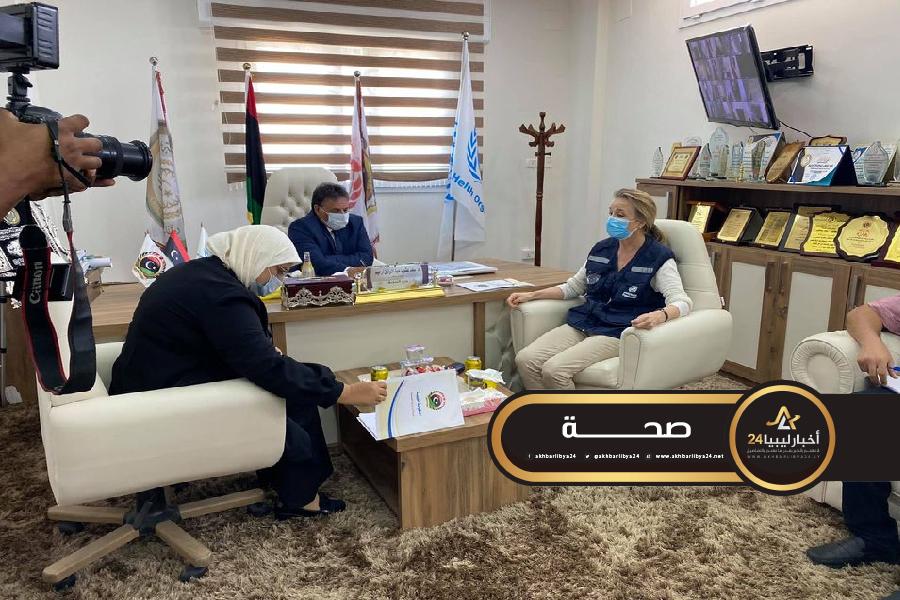 صورة منظمة الصحة العالمية تشيد بجهود ليبيا في مواجهة كورونا