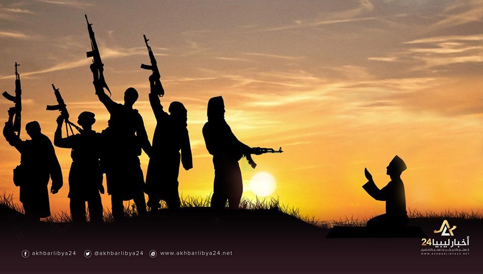 صورة جرائم الإرهاب..اغتيال قيم مسجد في بنغازي خلال شهر رمضان