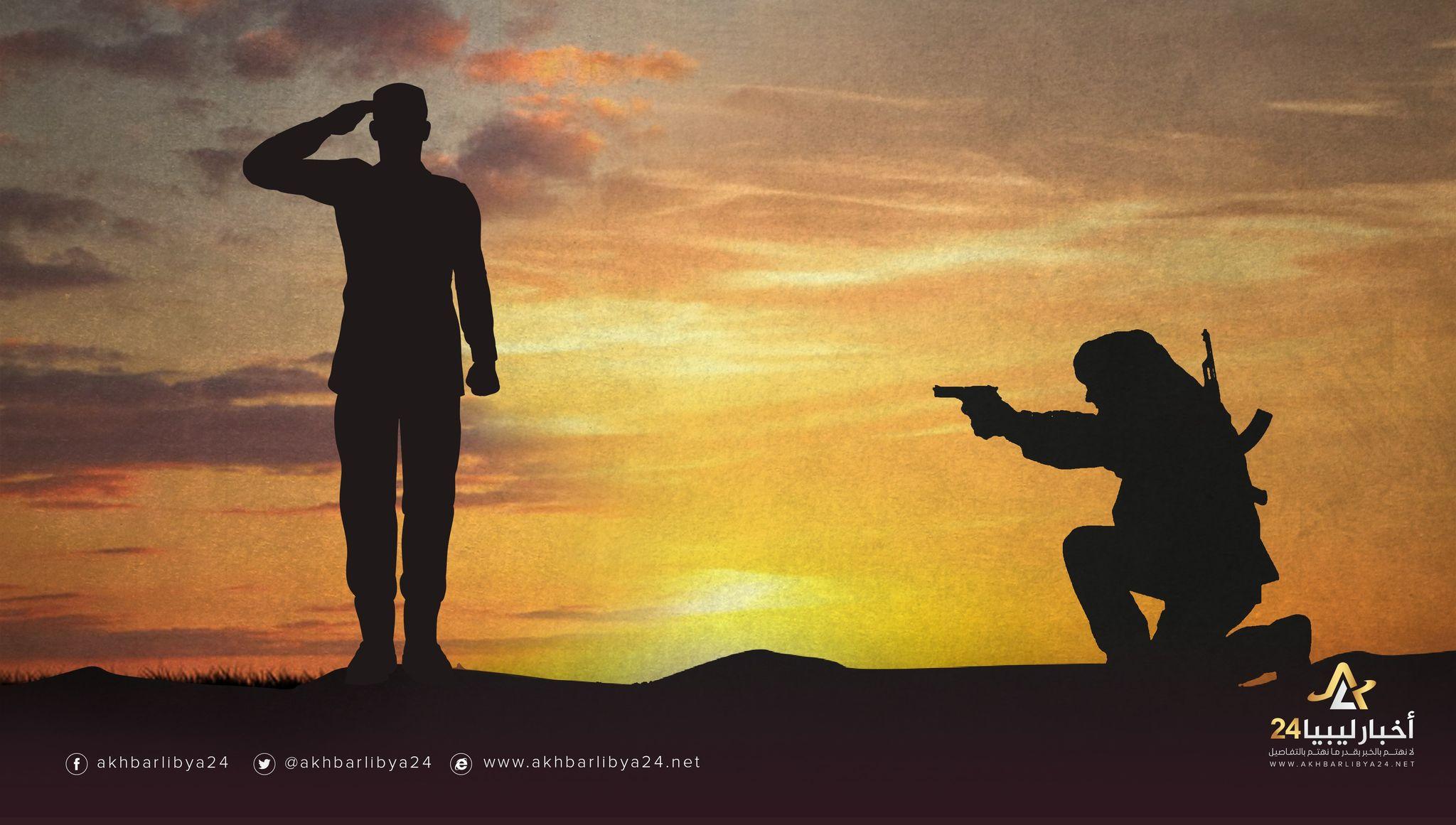 صورة لأنه صدح بالحق على القنوات المرئية .. أصبح هدف للجماعات الإرهابية