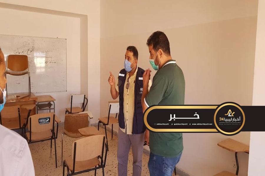 صورة الصحة العالمية تتابع انطلاق امتحانات جامعة طبرق في ظل خطوات احترازية ضد كورونا