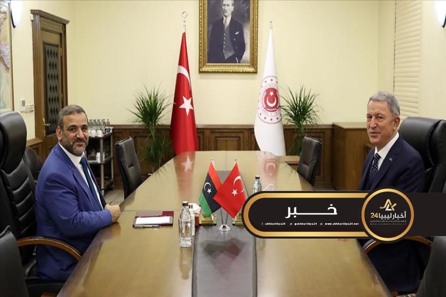 صورة خلوصي أكار: تركيا تؤكد مواصلتها أنشطة التدريب والاستشارة عسكريًا وأمنيًا لليبيين