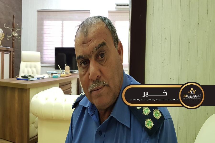 صورة الحرس البلدي طبرق يكشف عن مهام اللجنة الأمنية المشتركة