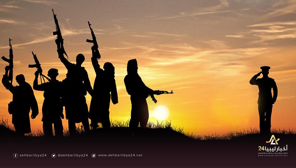 صورة الإرهاب لم يراعي حرمة..اغتيال رئيس مركز شرطة أجخرة في بنغازي