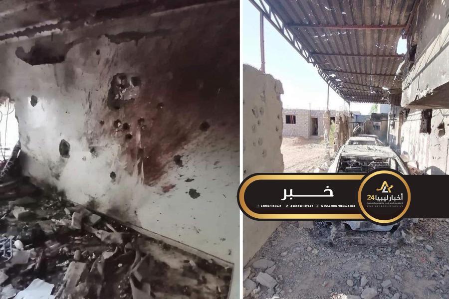 صورة مرتبط بخلية سبها..القوات المسلحة تضبط إرهابي مختبيء في بلدة غدوة