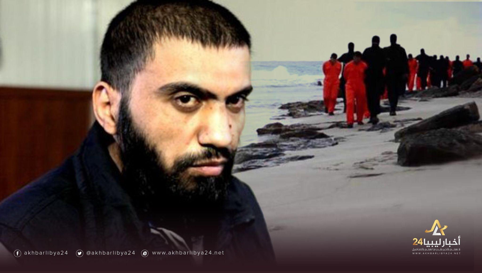 """صورة سائق """"أمراء داعش""""..الإرهابي """"الديناصور"""" أحد شهود مجزرة الأقباط في سرت"""