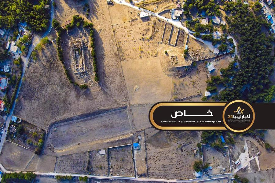 صورة الليبية للتراث توثق تعديًا جديدًا بالقرب من معبد زيوس الأثري في شحات