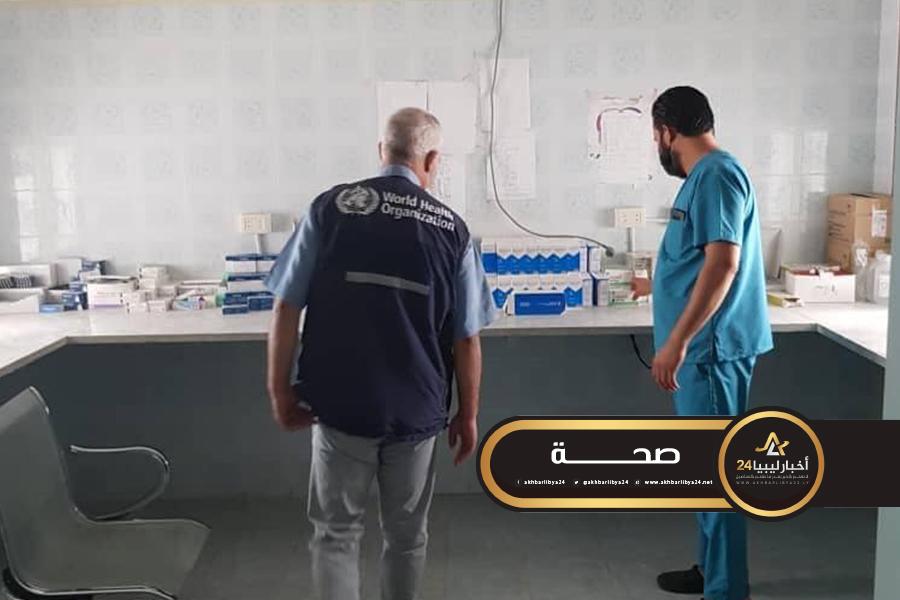 صورة الصحة العالمية: تفعيل شبكة المنسقين الميدانيين في جميع أنحاء ليبيا