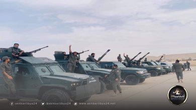 """صورة تكليف """"اللواء 128 معزز"""" بتنفيذ مهام جديدة في سبها"""