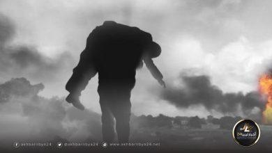 صورة عودة شهيد بعد سنوات من تحرير قنفودة من داعش