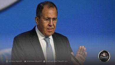 صورة لافروف: نأمل دعم اتفاق وقف إطلاق النار في ليبيا بآليات حقيقية