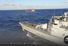 """صورة """"إيريني"""" تكشف تفاصيل تفتيش سفينة سورية قادمة من تركيا إلى مصراتة"""
