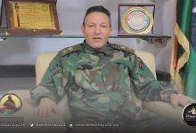 صورة آمر المنطقة العسكرية طرابلس يطالب بتنفيذ بنود اتفاق جنيف