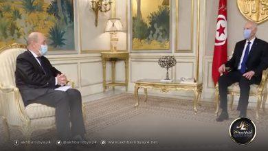 """صورة سعيد لـ""""لودريان"""": كلما زاد عدد المتدخلين تعقدت الأمور في ليبيا"""