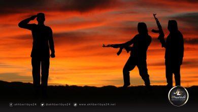 """صورة """"داعش"""" يغتال ضابط بالجيش وهو في طريقه إلى المسجد"""