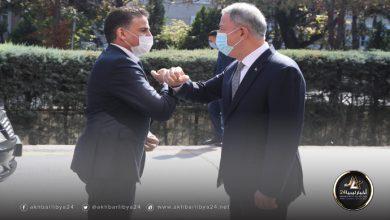 صورة النمروش يؤكد على تمسك حكومة الوفاق بالتعاون العسكري مع تركيا