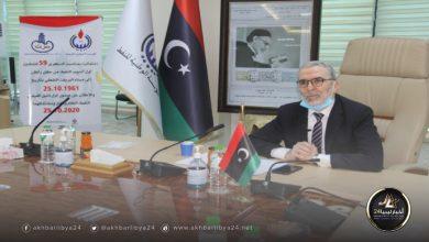 صورة الوطنية للنفط تحتفل بذكرى تدشين أول أنابيب للنفط في ليبيا