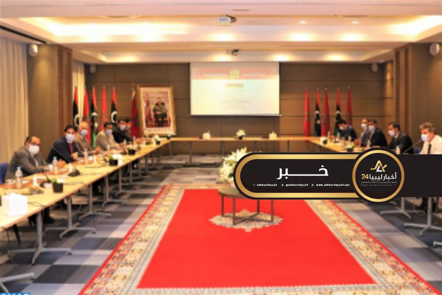 صورة استئناف جلسات الحوار الليبي في بوزنيقة