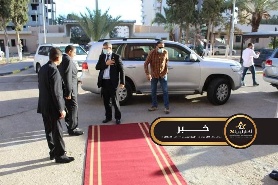 صورة رئيس المباحث الجنائية طرابلس يستعرض مع سفير الاتحاد الأوروبي التعاون والدعم
