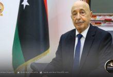 صورة عقيلة صالح والوفد المرافق له يصل العاصمة المصرية القاهرة