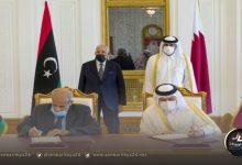 صورة الوفاق وقطر توقعان على مذكرة تفاهم أمنية