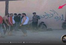 صورة اعتصام وغضبمرتزقة سوريين في طرابلس بعد سرقة رواتبهم