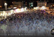 صورة المئات في طبرق يتجمعون بساحة الملك إدريس للاحتفال بالمولد النبوي الشريف
