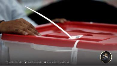 صورة انطلاق العملية الانتخابية ببلديات جالو وأوجلة واجخرة