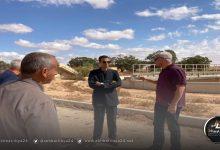 صورة استئناف مشروع الصرف الصحي ببلدية الأبيار المتوقف في 2011