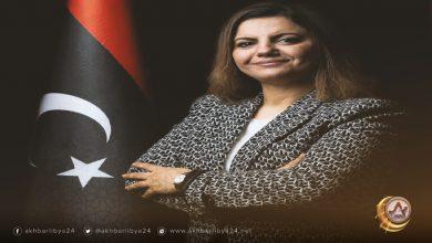 وزيرة الخارجية نجلاء المنقوش