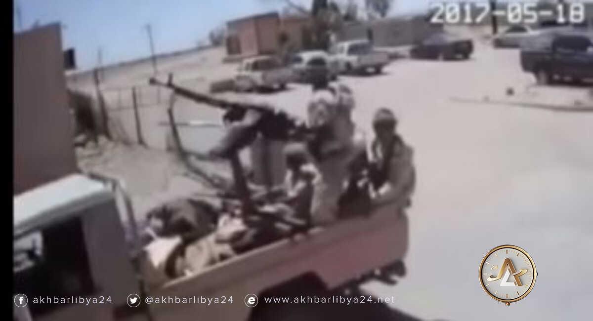 هجوم إرهابي_قاعدة براك الشاطيء