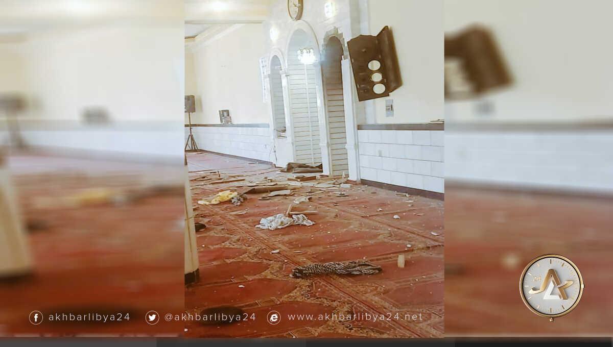 تفجير مسجد في كابل