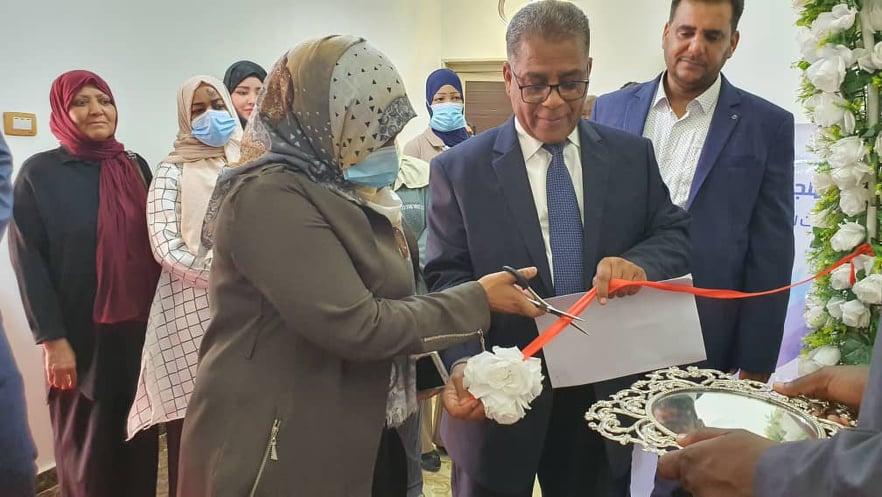افتتاح فرع سبها بالمجلس الوطني للحريات وحقوق الإنسان