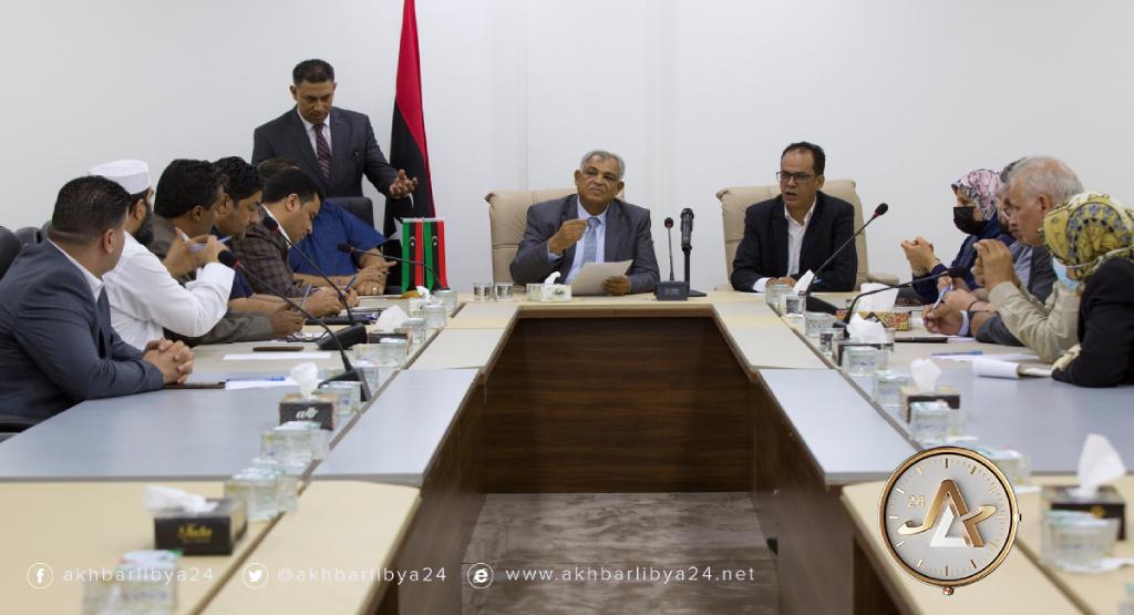بنغازي-نائب رئيس الحكومة يلتقي بعدد من النواب