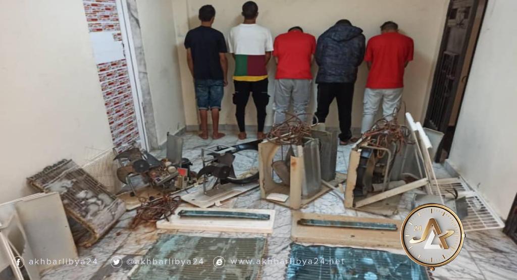 ليبيا- جرائم سرقة
