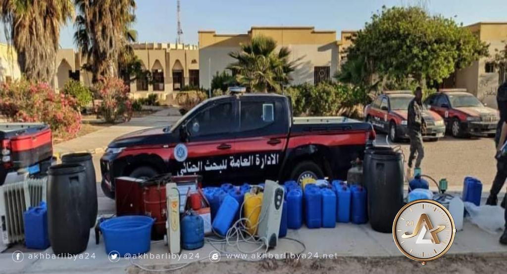 ليبيا- ضبط مصنع خمور في سرت