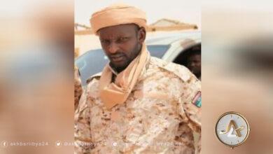 ليبيا- آمر سرية شهداء الواو علي محمد التباوي